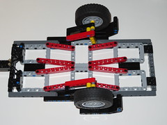 Trailer Chassis with reinforcing (RS 1990) Tags: lego technic moc oc trailer chassis reinforcing august 2019