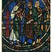 AlbumG208 Emmaus-Jünger, Glasmalerei, Kathedrale Chartres, September 1956