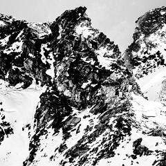 RoughRocks.jpg (Klaus Ressmann) Tags: klaus ressmann omd em1 abstract fvalthorens landscape winter blackandwhite contrast design flcabsnat rocks squareformat klausressmann omdem1