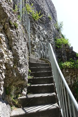 Stairs @ Tour des Comtes de Genève @ La Roche-sur-Foron