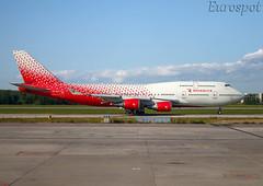 EI-XLF Boeing 747-400 Rossiya (@Eurospot) Tags: ulli pulkovo rossiya eixlf boeing 747 747400