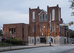 Historic Ebenezer Baptist Church (DayBreak.Images) Tags: urban city atlanta georgia sweetauburn 404 atl ebenezerbaptistchurch canondslr canoneflens lightroom