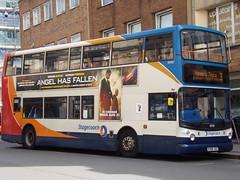 Stagecoach ADL Trident (ADL ALX400) 18408 KX06 JXZ (Alex S. Transport Photography) Tags: bus outdoor road vehicle stagecoach stagecoachmidlandred stagecoachmidlands dennistrident alx400 alexanderalx400 trident unusual adltrident adlalx400 route3 18408 kx06jxz
