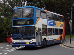Stagecoach TransBus Trident (TransBus ALX400) 18101 KX04 RDY (Alex S. Transport Photography) Tags: bus outdoor road vehicle stagecoach stagecoachmidlandred stagecoachmidlands dennistrident alx400 alexanderalx400 trident transbustrident transbusalx400 routex10 18101 kx04rdy