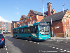 CX07CVB 2662 Arriva Buses Wales in Chester (Nuneaton777 Bus Photos) Tags: arriva buses wales wright pulsar cx07cvb 2662 chester