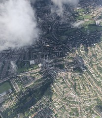 Beckenham (looper23) Tags: south east london airplane view sky air august 2019 heathrow approach