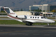 n41ea c525 ksjc (Terry Wade Aviation Photography) Tags: c525 ksjc