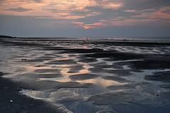 Sunset (jen-kai) Tags: sunset nikon d90 2019 summer sea beach taiwan 竹圍漁港 沙灘
