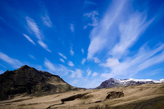 Iceland (mireiatarres) Tags: landscape nature outside iceland mountains clouds