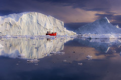 Ice Cruising to the Disko Bay (yan08865) Tags: ilulissat icefjord greenland boat sailing fishing icebergs ice glaciers nature sea seascapes water waterfront landscapes sermeq kujalleq arctic travel colors photographers canon sigma picture sunset pavlis ngc supershot
