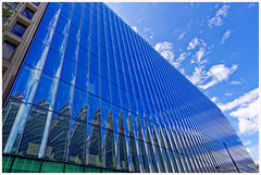 2019/226: 2050 M Street (Rex Block) Tags: 3652019 nikon d750 dslr 1835mm washington dc building mstreet modern concave reflection blue project365 365the2019edition day226365 14aug19 ekkidee 20192262050mstreet