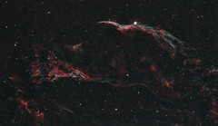 Veil Nebula (AstroBackyard) Tags: veil nebula astrophotography space astronomy telescope dslr canon 60da supernova remnants cygnus loop deep sky night stars