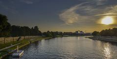 Krakow and the river Vistula in Poland (The Cuman) Tags: nikon nikond610 nikon240850mmf3545 werner poland krakow krakkó vistulavisztula river city sun sunset colors