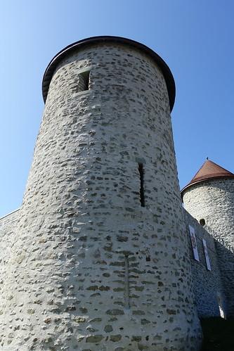 Tower @ Chemin de la Porte du Château @ Château des Sires de Faucigny @ Bonneville