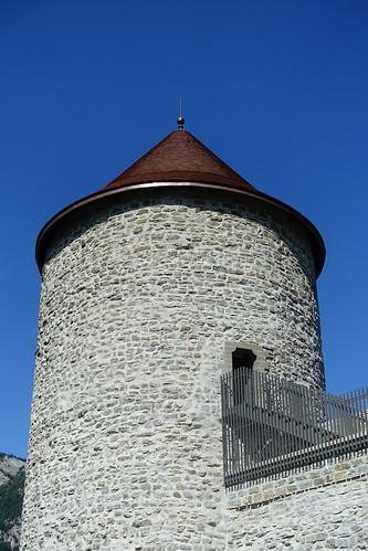 Tower @ Château des Sires de Faucigny @ Bonneville