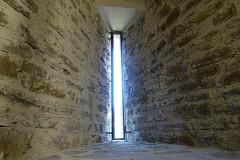 Arrowslit @ Château des Sires de Faucigny @ Bonneville (*_*) Tags: 2019 ete summer august afternoon sunny europe france hautesavoie 74 bonneville faucigny savoie mountain castle chateau medieval chateaudessiresdefaucigny meutriere loophole arrowslit