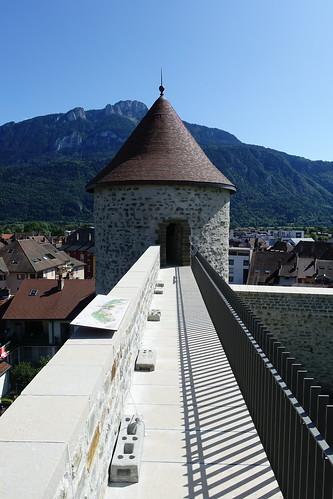 Rampart @ Château des Sires de Faucigny @ Bonneville
