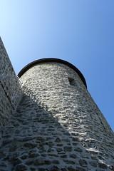 Main tower @ Château des Sires de Faucigny @ Bonneville (*_*) Tags: 2019 ete summer august afternoon sunny europe france hautesavoie 74 bonneville faucigny savoie mountain castle chateau medieval chateaudessiresdefaucigny