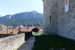 Château des Sires de Faucigny @ Bonneville (*_*) Tags: 2019 ete summer august afternoon sunny europe france hautesavoie 74 bonneville faucigny savoie mountain castle chateau medieval chateaudessiresdefaucigny
