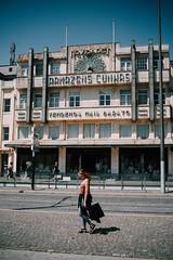 Peacock Facade (dogslobber) Tags: green portugal porto europe travel adventure explore wander art deco facade peakcock