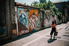 Hazul (dogslobber) Tags: green portugal porto europe travel adventure explore wander hazul street art graffiti