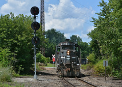 YS IBCX 8340.  Youngstown, OH (bobchesarek) Tags: youngstownsoutheastern ys trains railroad locomotive
