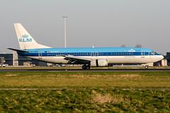 PH-BTF (PlanePixNase) Tags: amsterdam ams eham schiphol planespotting airport aircraft klm boeing 737 b734 737400