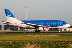 G-DBCI (PlanePixNase) Tags: amsterdam ams eham schiphol planespotting airport aircraft bmi british midland 319 a319