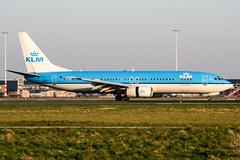 PH-BXE (PlanePixNase) Tags: amsterdam ams eham schiphol planespotting airport aircraft klm boeing 737 737800 b738