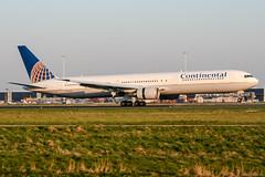 N78060 (PlanePixNase) Tags: amsterdam ams eham schiphol planespotting airport aircraft boeing 767 b767 767300 b763 continental