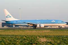 PH-BXG (PlanePixNase) Tags: amsterdam ams eham schiphol planespotting airport aircraft klm boeing 737 737800 b738