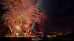 """""""Color burst Fireworks"""", Coruche, Ribatejo, Portugal (paulomarquesfotografia) Tags: fireworks coruche ribatejo portugal fogo de artificio festas 2019 sony a7 smc takumar 28mm f35 paulo marques arrasto luz light drag night noite escuridão dark darkness escuro"""