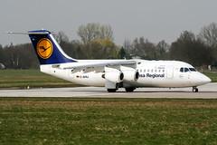 D-AVRJ (PlanePixNase) Tags: aircraft airport planespotting haj eddv hannover langenhagen british aerospace avro rj85 cityline lufthansa
