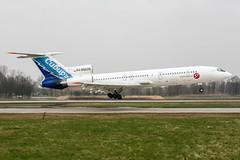 RA-85628 (PlanePixNase) Tags: aircraft airport planespotting haj eddv hannover langenhagen tupolev tu154 t154 s7 sibir tu5