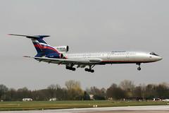 RA-85135 (PlanePixNase) Tags: aircraft airport planespotting haj eddv hannover langenhagen aeroflot tupolev tu154 t154 tu5