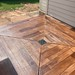 Rustic Concrete Wood Porch- Tailored Concrete Coatings- Clarksburg, MD