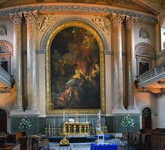 old royal naval college chapel, greenwich (stusmith_uk) Tags: london greenwich royalnavalcollege christopherwren chapel april 2019 altar