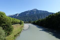 Pointe d'Andey @ Arve river @ Footbridge @ Bonneville