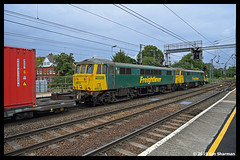 No 86604 & No 86613 14th Aug 2019 Ipswich (Ian Sharman 1963) Tags: no 86604 86613 14th aug 2019 ipswich class station engine railway rail railways railfreight train trains loco locomotive freightliner geml great eastern mainline 66 86