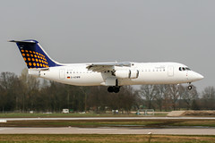 D-AEWM (PlanePixNase) Tags: aircraft airport planespotting haj eddv hannover langenhagen eurowings bae 146200 lufthansa
