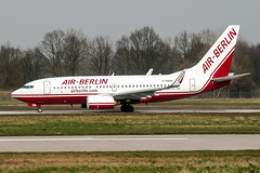 D-ABBN (PlanePixNase) Tags: aircraft airport planespotting haj eddv hannover langenhagen boeing 737 airberlin 737700 b737