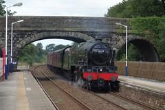 Long Preston (Callum Nicolson) Tags: wcrc wcr west coast railways railway company carnforth 10a hellifield 5m50 test 46115 scots guardsman steam mainline lms long preston