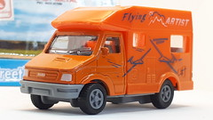 HT IVECO DAILY NO2 CAMPER VAN FLYING ARTIST SIKU COPY 1/64 (ambassador84 OVER 14 MILLION VIEWS. :-)) Tags: ht siku ivecodaily campervan diecast