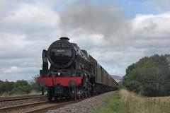 Great Scot (Callum Nicolson) Tags: wcrc wcr west coast railways railway company carnforth 10a hellifield 5m50 test 46115 scots guardsman steam mainline lms wilpshire bank