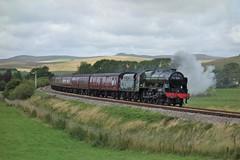 Hellifield Green (Callum Nicolson) Tags: wcrc wcr west coast railways railway company carnforth 10a hellifield 5m50 test 46115 scots guardsman steam mainline lms green