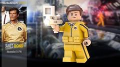 James Bond (Moonraker) | Custom Minifig (Barbabrique) Tags: customminifig lego barbabrique roger moore moonraker james bond 007 cmf minifigure