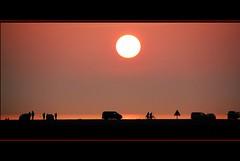 Danish sunset. (Haldorfer) Tags: dänemark römö denmark danmark rømø strand beach sonne sun natur nature sand himmel sky horizont sommer vahehavet watt meer sea nordsee germansea summer wattenmeer sundown düne dune landschaft landscape urlaub vacation
