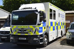 WK68 KPL (S11 AUN) Tags: devon cornwall police man tgm truck wagon lorry lgv marine unit river policing patrols underwater search divers diveteam 999 emergency vehicle