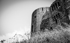 Barnard Castle . (wayman2011) Tags: colinhart fujifilmxe2s lightroom5 wayman2011 bw mono rural castles historicbuildings pennines dales teesdale barnardcastle countydurham uk 7artisans25mmf1 8