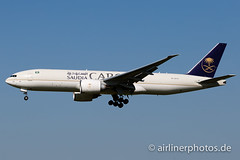 HZ-AK74 (Airlinerphotos.de) Tags: ams b777200 saudiarabian